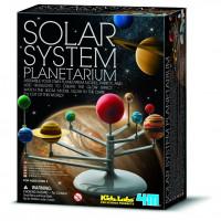 Model slnečnej sústavy - svietiaci v tme