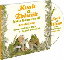 Kvak a Žbluňk jsou kamarádi - audio na CD