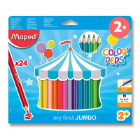 Pastelky Maped Color´Peps Jungle- 24 kusov