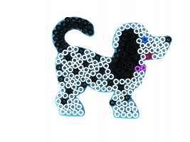 Hama Maxi podložka priehľadná - pes