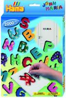 Hama midi - Dárková sada - veselé psaní - 2000 ks