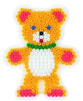 Hama Midi - podložka medvídek