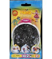 Hama Midi - korálky černé 1000 ks
