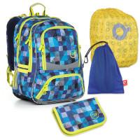 Set pre školákaTOPGAL - CHI 870 D + CHI 897 + vrecko na prezuvky, pláštenka na batoh