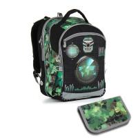 Školský batoh a peračník TOPGAL - CHI 883 E + CHI 919
