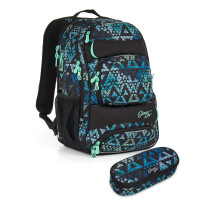 Studentský batoh a penál Topgal - HIT 888 E + HIT 902