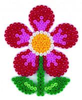 Hama Midi - podložka kvetina