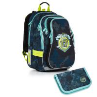 Školský batoh a peračník Topgal - CHI 878 D + CHI 911