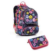 Školní batoh a penál Topgal - ALLY17005 G + PENN17005