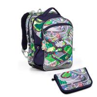 Školní batoh a penál Topgal  - COCO17001 B + PENN17001 B