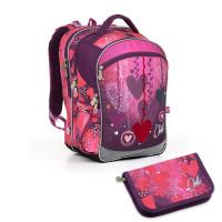Školní batoh a penál Topgal - COCO17002 G + PENN17002 G
