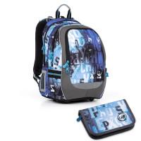 Školský batoh a peračník - CODA17006 B + PENN17006 B
