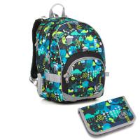 Školní batoh a penál Topgal KIMI 18011 B