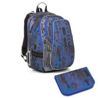Školní batoh a penál Topgal LYNN 18005 B