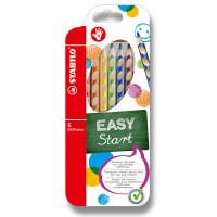 Farbičky Stabilo EASYcolors - 6 farieb, pre pravákov