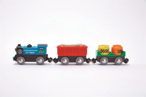 Elektircká mašinka s vagónikmi