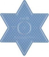 Hama Midi - podložka hvězda