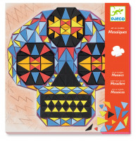 Mozaika - Lebky