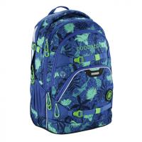 Školský batoh Coocazoo ScaleRale, Tropical Blue, certifikát AGR