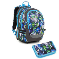 Školní batoh a penál Topgal CODA 18048 B