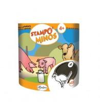 Detská razítka StampoMinos - Zvieratká na statku