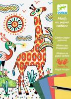 Výtvarná hra - zvířata v divočině - kouzlení s kopírovacím papírem