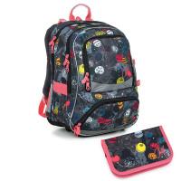 Školní batoh a penál Topgal NIKI 19007 G