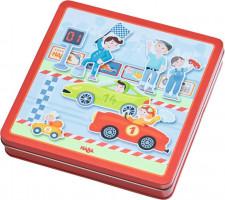 Magnetická hra - závodní auta - promáčklý obal sleva 20%