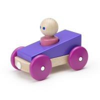 Magnetické autíčko TEGU - Purple Racer