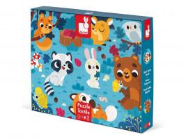 Puzzle hmatové - lesní zvířátka - 20 ks