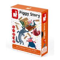 Kartová hra pre deti Tri prasiatka