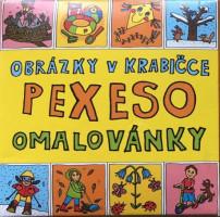 Pexeso - omalovánky - roční období