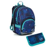 Školní batoh a penál Topgal KIMI 19020 B