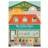 Kreativní samolepky - Moje malé město