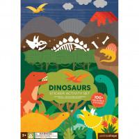 Kreatívne samolepky- dinosaury