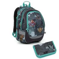 Školní batoh + penál Topgal CODA 19016 B