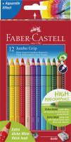 Farbičky Faber-Castell JUMBO GRIP - 12 farieb