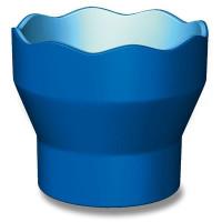 Kelímek na vodu Faber-Castell Click & Go modrý