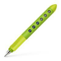 Plnící pero Faber-Castell Scribolino pro praváky, světle zelená