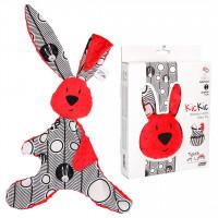 Mom's Care - červený králíček - muchláček do postýlky