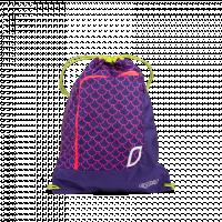 Sportovní pytel Ergobag - Fluo růžový
