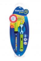 Bombičkové pero Griffix 4 pro leváky - zelené