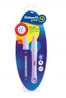 Bombičkové pero Griffix 4 pro praváky - fialové