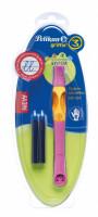 Inkoustový roller Griffix 3 pro praváky - růžový