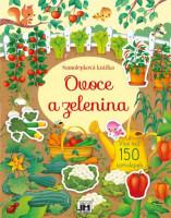 Ovoce a zelenina -  samolepková knížka