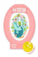Tetování - mořská panna