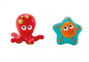 Stříkací chobotnice s hvězdicí - hračka do vody