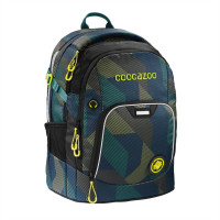 Školský batoh Coocazoo RayDay, Polygon brick