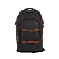 Študentský batoh Ergobag Satch-  Black Volcano