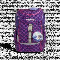 Dětský batoh Ergobag mini - fluo růžový